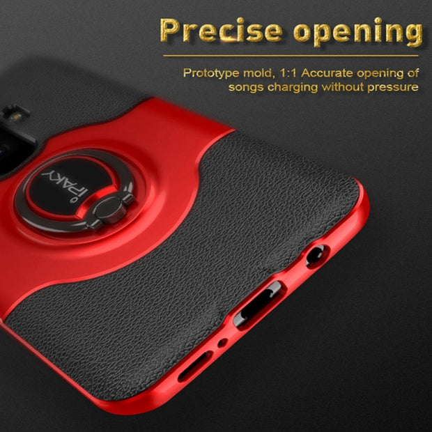 IPAKY Original For Samsung S9 Case Hybrid Full Cover Magnetic Adsorp For Samsung Galaxy S9 Plus Luxury Ring Holder S9 Plus Case