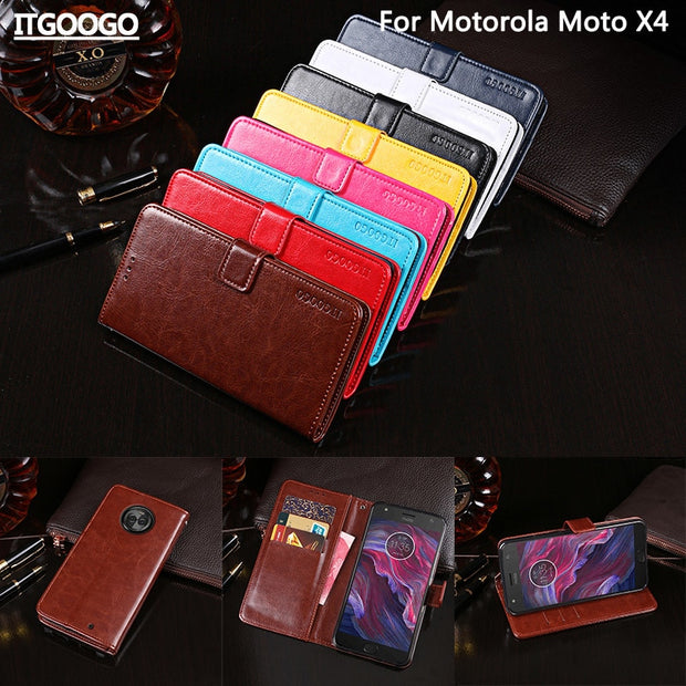 online store 130bc 91533 Itgoogo For Motorola Moto X4 Case Cover 5.2