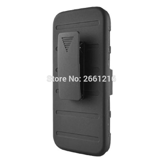 J7 J700 Shockproof Future Armor Belt Clip Holster Case With Kickstand Cover For Samsung Galaxy J7 J700 5.5""