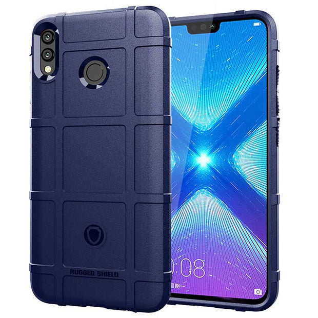JIATEXIN Shield Series For Huawei Y9 (2019) Shockproof Armor TPU Case For Enjoy 9 Plus Shell Armour Defend Cover Capa Fundas