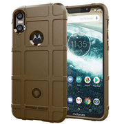JIATEXIN Shield Series For Motorola One Shockproof Armor TPU Case For Moto P30 Play Shell Armour Defend Cover Capa Fundas