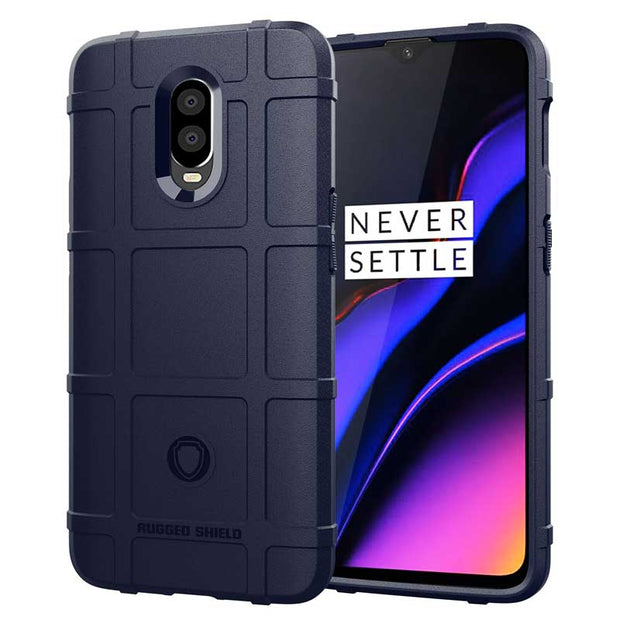 JIATEXIN Shield Series For OnePlus 6T Shockproof Armor TPU Case For One Plus 6 Shell Armour Defend Cover Capa Fundas