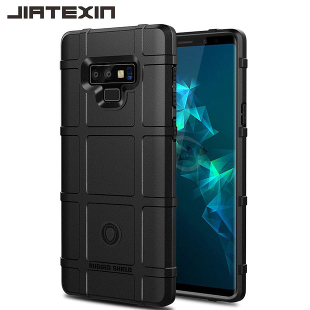 JIATEXIN Shield Series For Samsung Galaxy Note9 Shockproof Armor TPU Case For Note 9 Shell Armour Defend Cover Capa Fundas