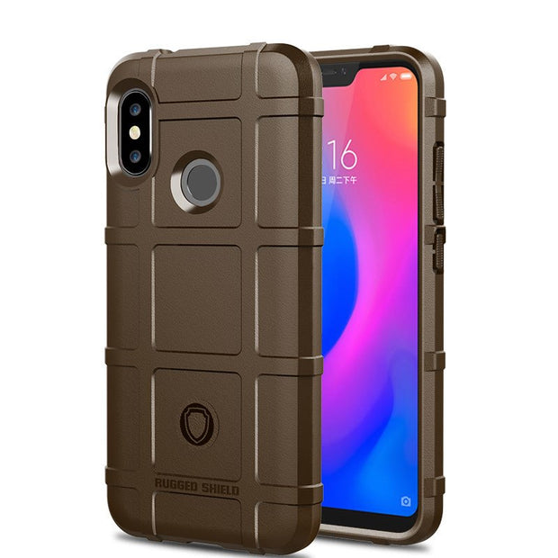 JIATEXIN Shield Series For Xiaomi Mi A2 Lite Shockproof Armor TPU Case For Redmi 6 Pro Shell Armour Defend Cover Capa Fundas