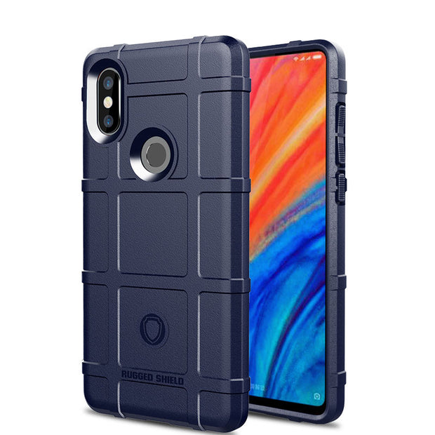 JIATEXIN Shield Series For Xiaomi Mi Mix 2S Shockproof Armor TPU Case For Mix 2S Shell Armour Defend Cover Capa Fundas
