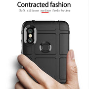 JIATEXIN Shield Series For Xiaomi Redmi Note 6 Pro Shockproof Armor TPU Case For Note 6Pro Shell Armour Defend Cover Capa Fundas