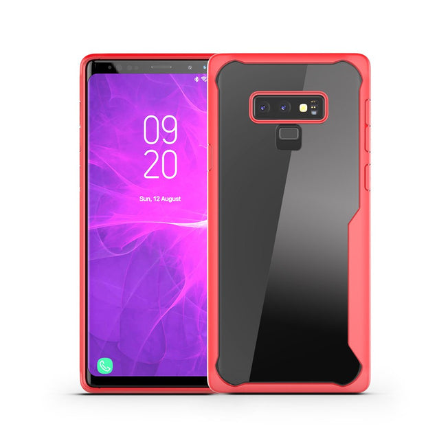 KDTONG Case SFor Samsung Galaxy Note 9 Case Luxury Soft Silicone + Transparent PC Cover For Galaxy Note 9 Note9 Case Cover Capa