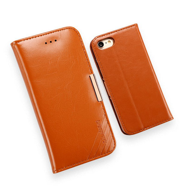 Kalaideng Luxury Flip Genuine Leather Case For IPhone 7 Plus Wallet Coque Cover For IPhone 7 Plus Flip Case 5.5 Inch Capa