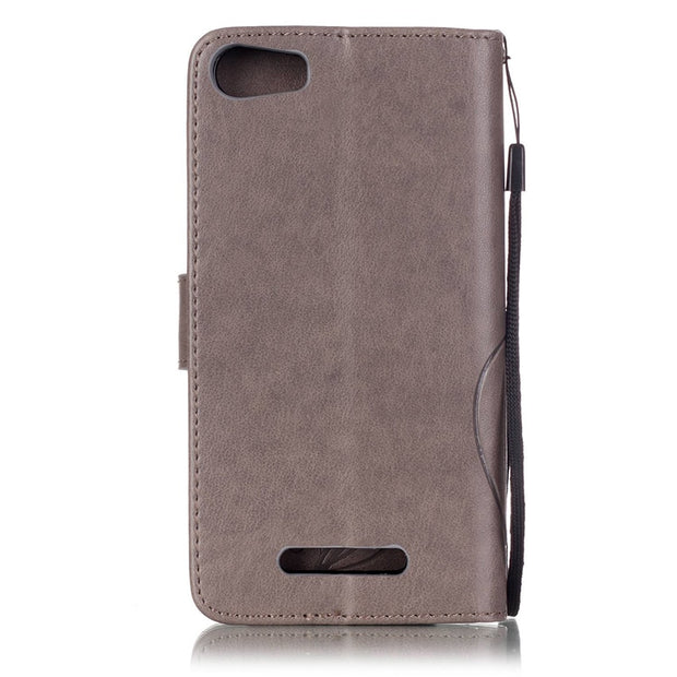 LUCKBUY Luxury Case For Coque Wiko Lenny 2/Lenny 3/Fever 4G/Pulp 4G/Rainbow 4G/Rainbow Lite/Sunset 2 Leather Stand Wallet Cover