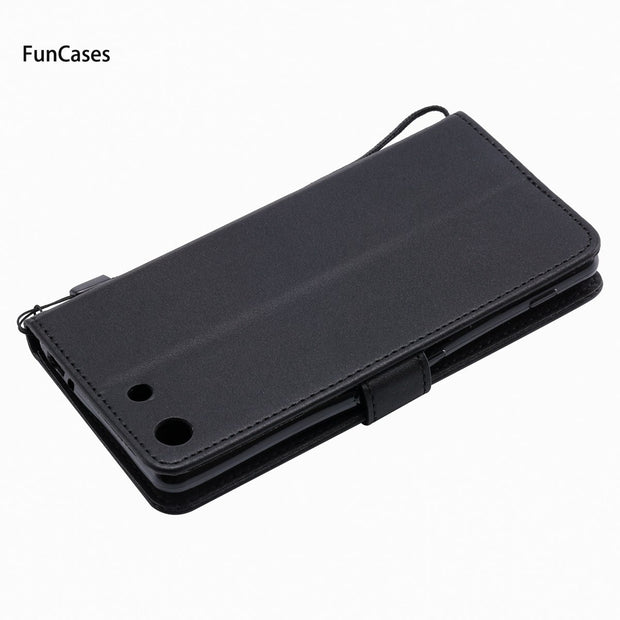 Latest Wallet Phone Case SFor Capinha Sony M5 Soft TPU Back Cover Funda Plain Telefon Aksesuar Case For Sony Xperia M5 Phomes