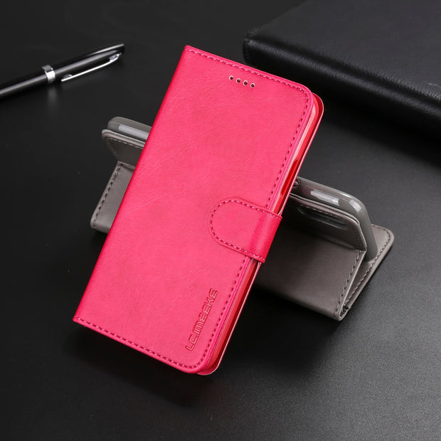 Leather Album Cover Bag For Iphone XR Case IPhone X XS MAX 8 7 6 6S Plus 5 5S SE Stand Wallet Flip Credit Card Business Case