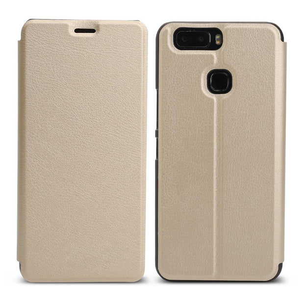 Leather Bracket Cover Scratch Resistance Phone Case Gold, Blue, Black Holder For Leagoo S8 PRO