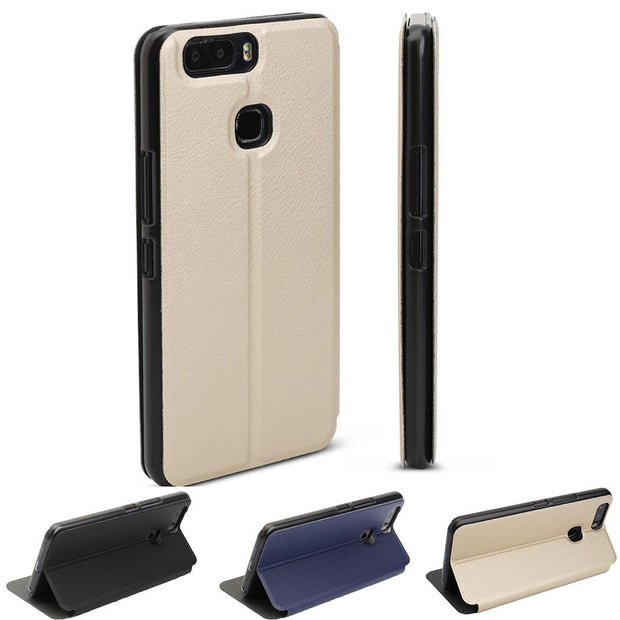 Leather Bracket Cover Scratch Resistance Phone Case Holder For Leagoo Gold, Blue, Black S8 PRO