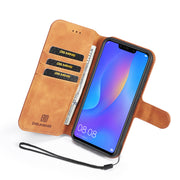 Leather Case For Huawei P20 Lite Luxury Flip Cover ANE-LX1 ANE-L21 ANE-L01 ANE-LX2 Stand Wallet Cases ANE LX1 L21 L01 Phone Bag