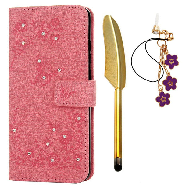 Leather Case For Huawei P30 Pro Coque Fundas For Huawei P30 Pro Protective Cover Butterfly Flip Wallet Phone Card Bag Shell