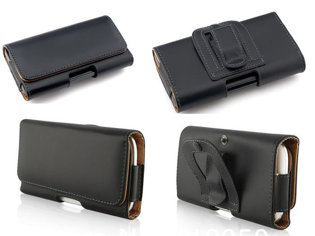 Leather Pouch Holster Belt Clip Case For MyPhone Hammer Energy Bag Redmi Note 6 Pro Redmi S2