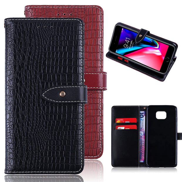 Luxury Coque Case For BQ M5.5 M 2017 Case Flip Luxury PU Leather Back Case Cover For BQ M5.5 M2017 With Stand Wallet Style