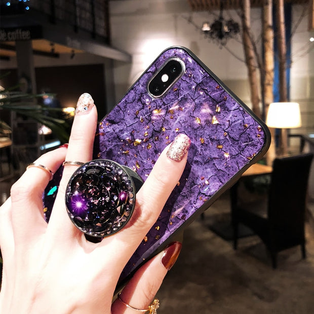 Luxury Diamond Marble Glitter Silicon Phone Case For Xiaomi MI 8 8se 8lite Mi6 6x Mix2 2s Mix3 Max2 3 Redmi5 6A S2 Note6 Cover