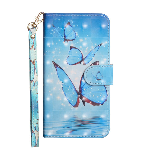 Luxury Flip Leather Case For Asus Zenfone Max Plus(M1) X018DC ZB570TL 3D Wallet Coque Silicone Back Cover For Asus ZB570TL Case
