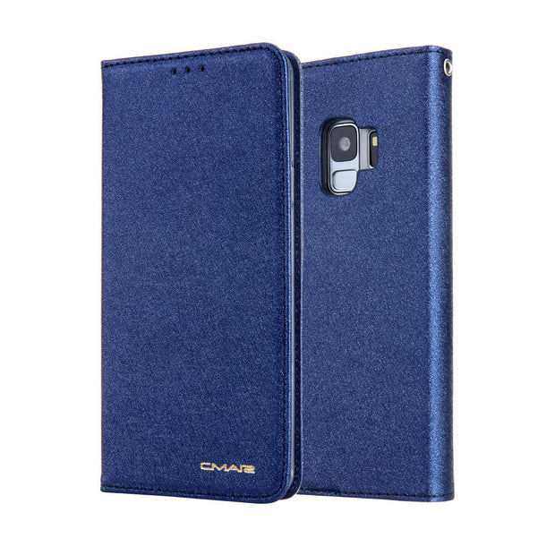 Luxury Flip Leather Case For Samsung Galaxy S9 Case Card Slots Stand Wallet Cover For Samsung S9 Plus S8 S8 Plus
