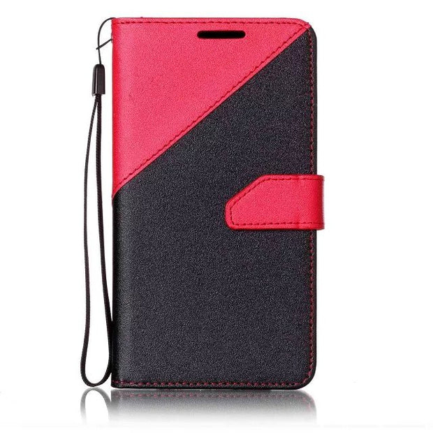 Luxury Leather PU Phone Case Cover For Samsung Galaxy S8 Plus J3 J5 J7 2017 2016 A320 A520 A720 S7 S6 Edge S5 Fundas Cover Capa