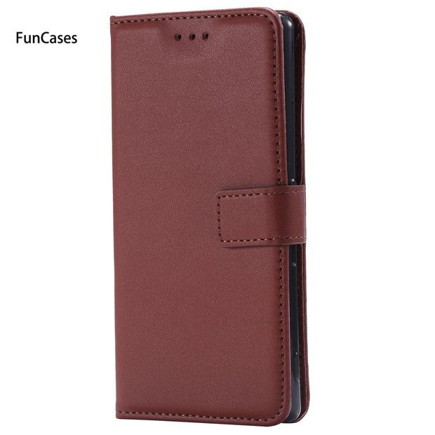 Luxury PU Leather Case SFor Carcasa Sony Z5 Card Slot Case Carcasa Cute Back Cover For Sony Xperia Z5 Protector Ajax Telefoan