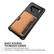 Luxury PU Leather Phone Case For Samsung Galaxy S9 S9 Plus Card Slot Car Holder Stand Case For Samsung Galaxy Note 9 Cases Coque