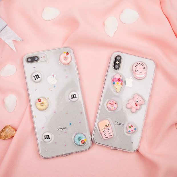 Luxury Winter Furry Warm Phone Cases For IPhone 6 Case IPhone X 7 8 Cute Cartoon Diamond OWL Back Cover For IPhone 8 7 6 6s Plus