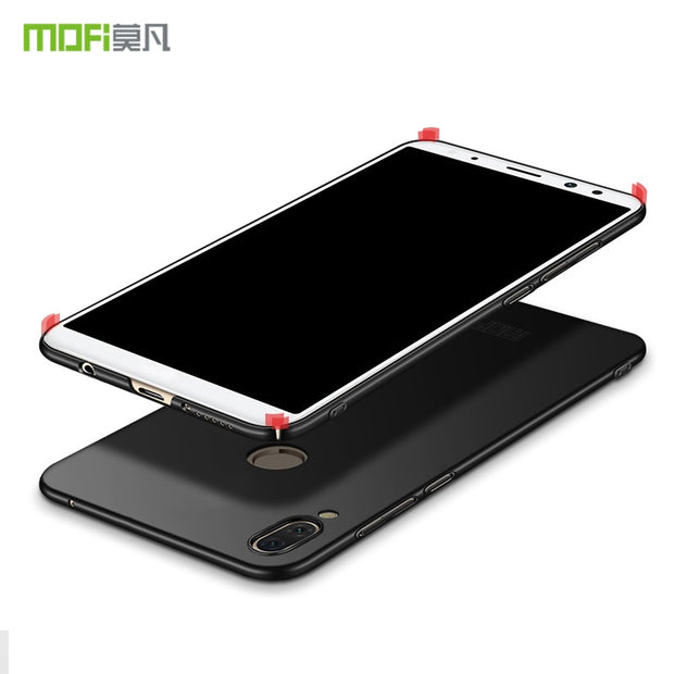 MOFi Hard PC Back Cover Case For Huawei Honor Play 6.3 Inch Phone Cases Protective Shell Cover For Huawei Honor Play Case Black