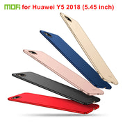 MOFi Hard PC Back Cover Case For Huawei Y5 2018 (5.45 Inch) Phone Cases Protective Shell Cover For Huawei Y5 2018 Case Fundas