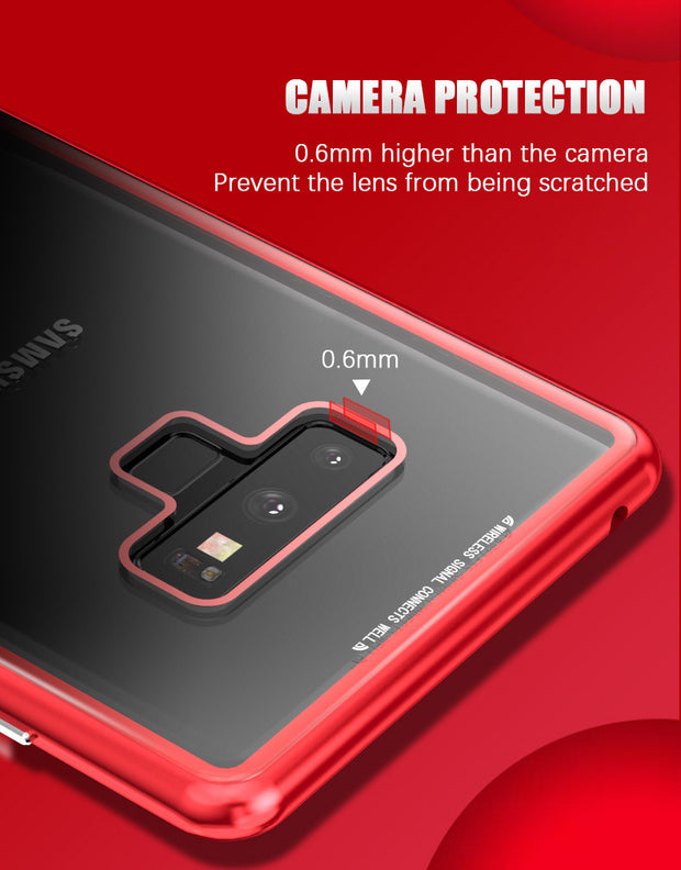 size 40 25b10 2add7 Magneto Magnetic Adsorption Metal Case For Samsung Galaxy NOTE 9 ...