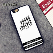 MaiYaCa BTS BANGTAN BOYS Young Forever Soft TPU Phone Cases For Apple Iphone 6 Case 4.7'' Fashion Case For Iphone 6S 6 Cover