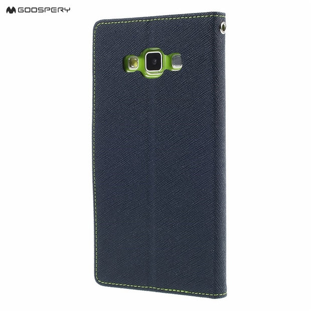 Mercury Goospery Original For Samsung Galaxy A3 A5 A7 A300 A500 A700 2015 Phone Case Fancy Diary Flip Leather Wallet Cover
