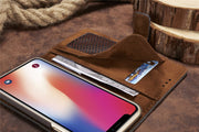 Mesh Retro Leather Wallet Case For 2018 IPhone XS Case X 5.8 XR 6.1 Max 6.5 Wallet Matte Cover Iphone9 Shockrproof Card Pockets