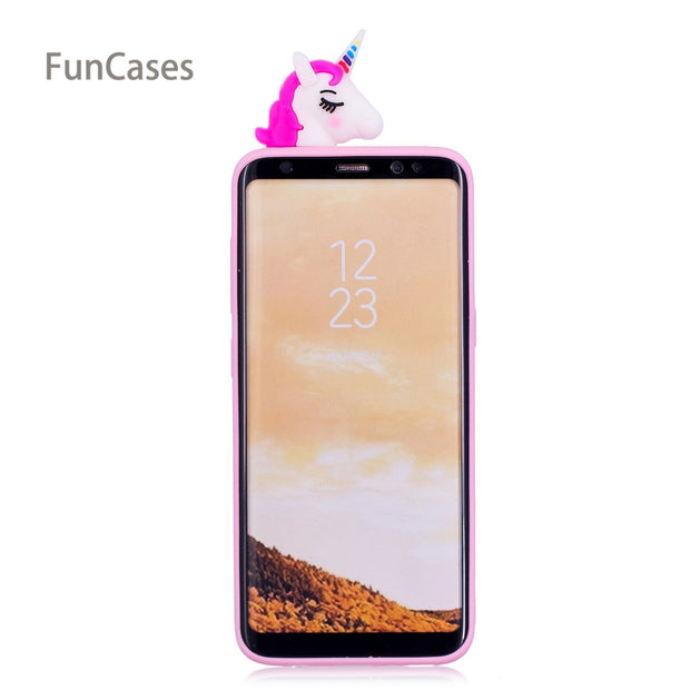 Multicolor Phone Case SFor Estuche Samsung S8 Plus Soft TPU Phone Case Caso Phone Case For Samsung Galaxy S8 Plus