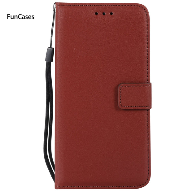 Multicolor Wallet Phone Case SFor Funda Huawei Y6 Card Slot Case Carcaso Geometric Silicone Case For Huawei Ascend Honor 4A Casa