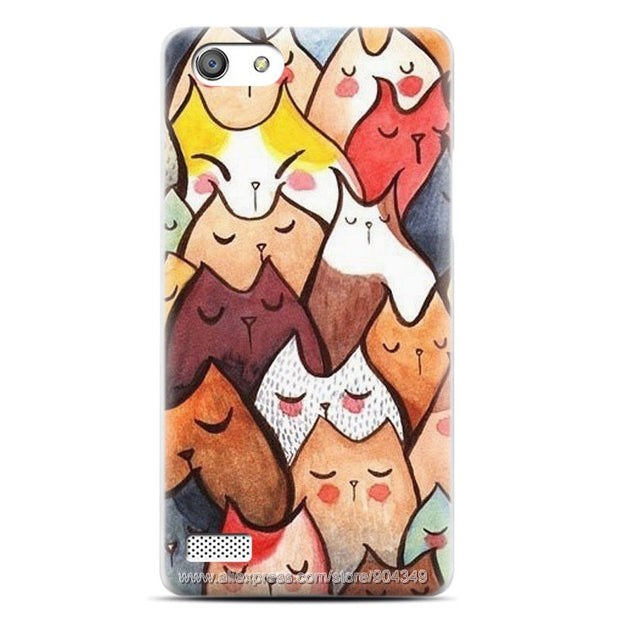 My First Love In Paris Case For OPPO A33 Slim Ultra Thin Print Cover For OPPO Neo 7 Fashion Plastic Hard Cases