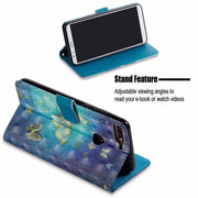 "New 5"" Flip PU Leather Case For Huawei Honor Enjoy 7 3D Printed Wallet Bag With Stand Feature Card Slot Magnetic Clasp Cover Bag"