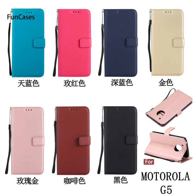 Newest Flip Phone Case SFor Aksesuar Moto G5 Soft TPU Back Cover Funda Glossy Phone Etui Case For Motorola G5 Cat Phone Case New