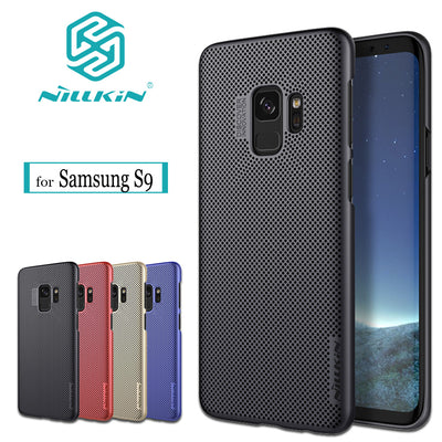 Nilkin For Samsung Galaxy S9 Case NILLKIN Heat Dissipation Air Case Luxury Hard PC Plastic Full Protective Cover For Samsung S9