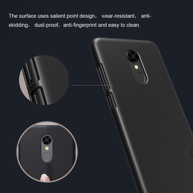 best loved 5facb 5e06c Nillkin Frosted Case For Xiaomi Redmi 5 Case Cover PC Hard Back ...