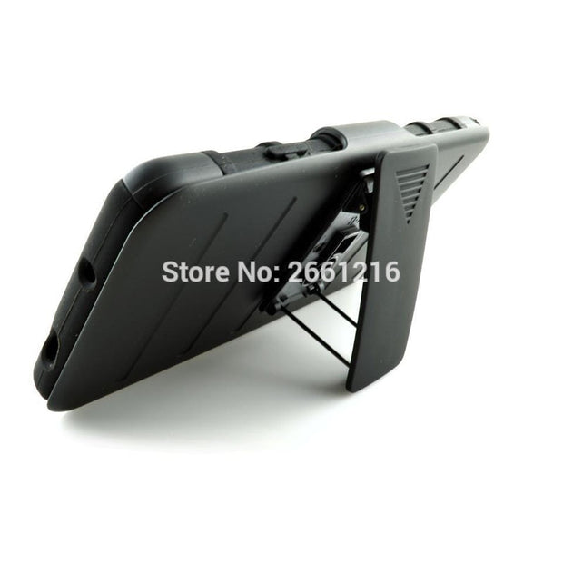 Note 3 Shockproof Future Armor Belt Clip Holster Case With Kickstand Cover For Samsung Galaxy Note 3 III N9000 5.7""