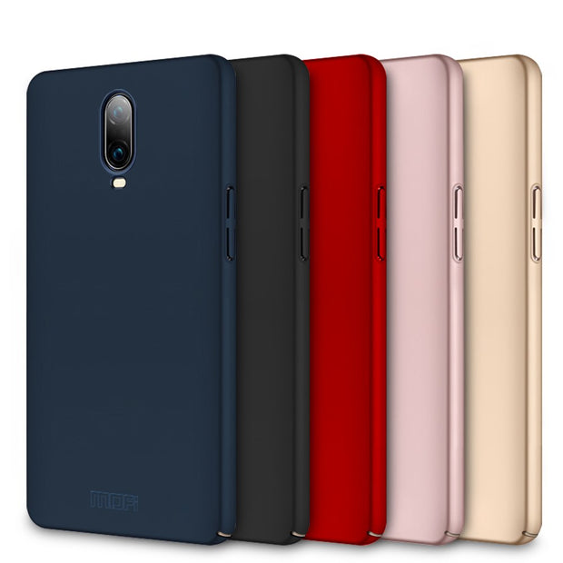 OnePlus 6T Case Cover Funda Coque One Plus 6T Back Cover Original MOFi Hard PC Protective Case For OnePlus 6T Cover Phone Cases