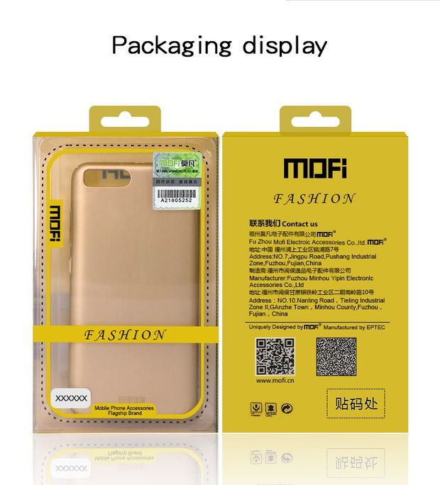 Original MOFi Brand Vivo Y97 Case Silicone Scrub Cover Hard PC Back Cover For Vivo Y97 Cases