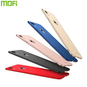 Original MOFi Brand For IPhone XR Case Silicone Scrub Cover Hard PC Back Cover For IPhone 6.1 Cases