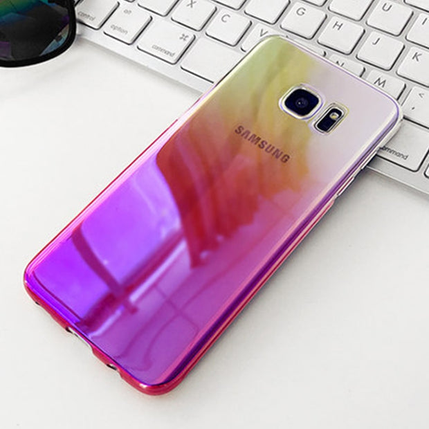 POMER For Samsung Galaxy S7 Edge S8 Case Ultra Thin Hard PC Plastic Protective Shell Back Cover Protector For Galaxy S8 Plus