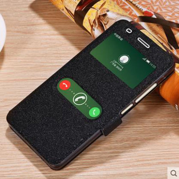 PU Leahter Phone Case Cover For China Mobile A3S Back Shell Mobile Phone Cases