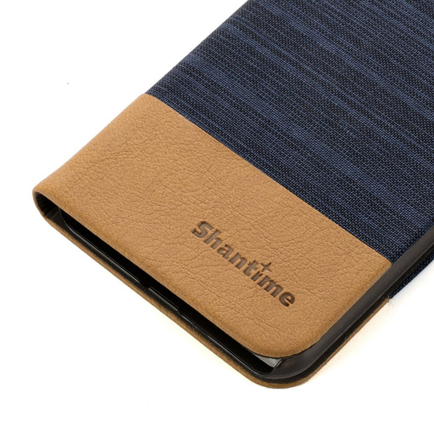 PU Leather Phone Case For Lenovo S5 Pro Flip Case For Lenovo S5 Pro Business Case Soft Silicone Back Cover