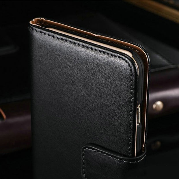 PU Leather Phone Case For Vodafone Smart N9 Lite Flip Case For Vodafone Smart N9 Lite Business Case Soft Silicone Back Cover