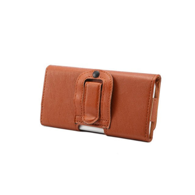 "PU Leather Phone Case For IPhone 5 6 6s 7 7s 8 Plus 5.5""inch Sport Horizontal Wallet Cover Bag Belt Clip Waist Pouch Coque"